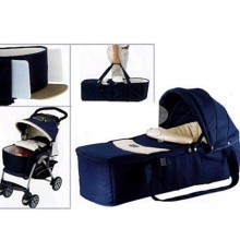 Chicco Luxury Baby Carry Cot - Blue