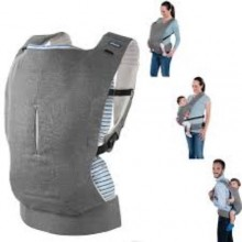 Chico Quality 3 in1 Baby Carrier - Gray