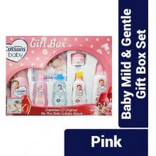 PZ Cussons Baby Mild & Gentle Gift Box Set - Pink