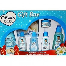 PZ Cussons Portable Mild Baby & Gentle Gift Box Set - Blue