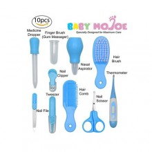 10 Piece Baby Care Kit - Blue