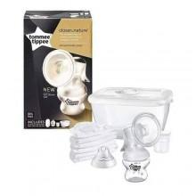 tommee tippee Cute Manual Breast Pump - White