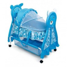 Baby Swing Cot - Blue