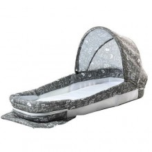 Soothing Baby Bed - Grey