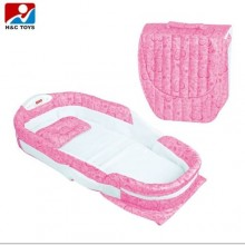Separated Portable Baby Bed - Pink