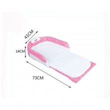 Portable Baby Bed - Pink