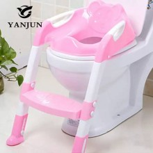 Portable Kids Toilet Potty Trainer Seat/Training Stool Chair For Toddler - Pink/White