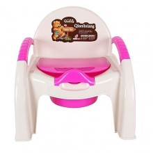 Potty Chair - Pink/White
