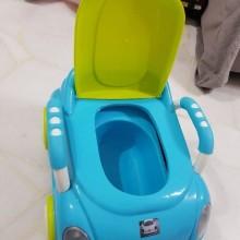 2 in 1 baby car Potty- Blue/Multicolour