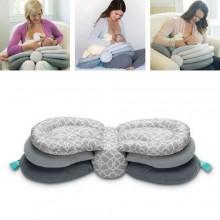 Ibaby Multipurpose Flip Breastfeeding Pillow - Grey