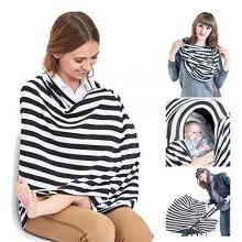 Multipurpose Breastfeeding Cover Blanket - Multicolour