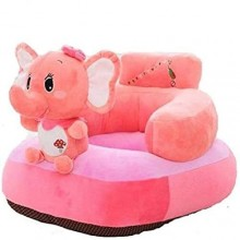 Comfortable Baby Sofa Seat - Pink/Multicolour
