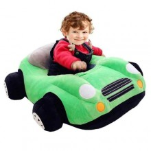 Baby Car Seat Sofa Sit Up Trainer - Green/Multicolour