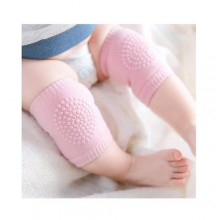 Anti-Slip Elbow & Crawling Knee Pad - 1Pair Pink