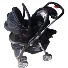 Superior 3-In-1 Baby Stroller - Black