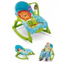 Fisher Price Infant-to-Toddler Rocker - Blue/Green