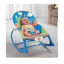 Fisher Price Adjustable Baby/Toddler Bouncer- Blue