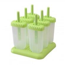 Detachable Popsicle Maker Molds - 6pcs - Green