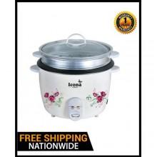 ICONA ILRC - 22DG Rice Cooker - 2.2 Litres White