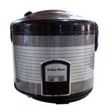 Italian Home Rice Cooker - 2 Litre Black/Silver