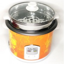 Italian Home Rice Cooker With Steamer - 5 Litres - Orange