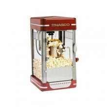 Nasco Electric Popcorn Machine - 370Watts - Red
