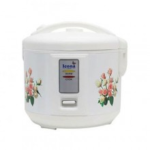 ICONA ILRC-15DL Rice Cooker - 1.5 Litre White