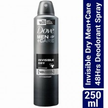 Dove Invisible Dry Men+Care 48Hrs Deodorant Spray - 250ml
