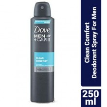 Dove Men+ Care Clean Comfort Deodorant Spray For Men - 250ml