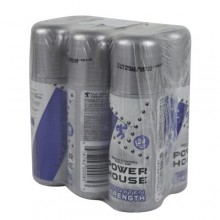 Power House Tungsten Strength Odour Control Roll On - 50ml x 6