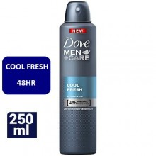 Dove Cool Fresh Men+Care 48Hrs Deodorant Spray - 250ml