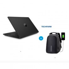 "Hp 250 G6 - 15.6"" - Intel Dual Core - 500GB HDD - 4GB RAM + Antitheft Backpack - Black"