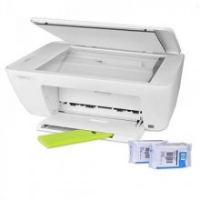 Hp Deskjet 2130 Scan Copy Printer - White + Free USB LED Light