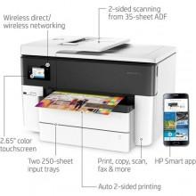 Hp OfficeJet Pro 7740 Wide Format All-In-One OfficeJet Printer - White