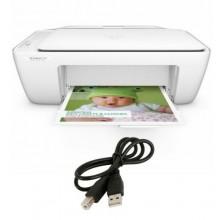 Hp Deskjet 2130 Scan Copy Printer - White + Free USB Printer Cable