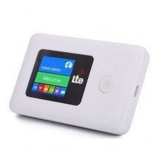 Universal 4G LTE Mifi with Display Screen - White