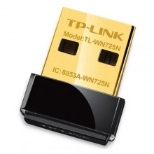 TP Link TL-WN725N Mini Wireless USB Adapter - Black