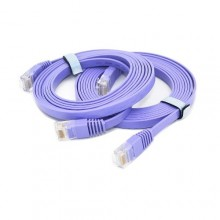Ethernet Network Patch LAN Flat Cable Chord 3M