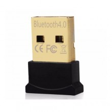 USB 4.0 Ultra-Mini Bluetooth CSR Dongle Adapter - Black