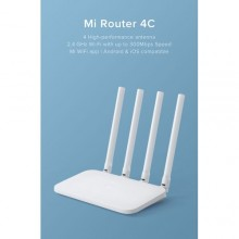 XIAOMI 4c Wireless Smart Router - 300Mbps -White