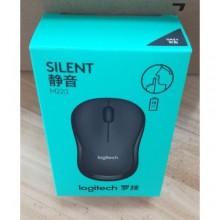 Logitech M220 Silent Wireless Mouse + Energizer Battery - Black/Grey