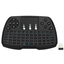 2.4GHz Wireless Keyboard Touchpad Mouse Handheld Remote