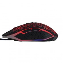 2K Games Wired Gaming Mouse with LED - Black