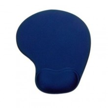 Mouse Pad with Wrist Gel Rest - Blue