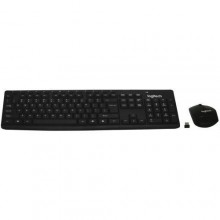 Logitech Wireless Keyboard & Mouse Combo - MK290 - Black