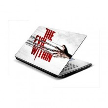 The Evil Within Laptop Sticker- 15.6 inches- Multicolour