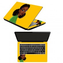 Laptop Sticker Princess Kari Stare- Multicolour