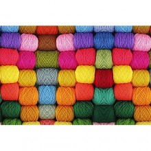 Laptop Sticker Thread - 15.6 inches- Multicolour