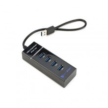 USB 3.0 4 Port Hub - Black
