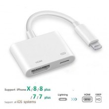 Ipad To HDMI Adapter For Lightning To Digital AV HDMI 4K USB Cable Connector 1080P HD Adapters For Iphone X 8/6S/Ipad Air